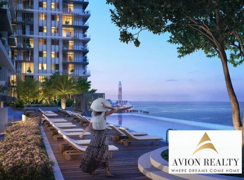 2 With Private Beach & Waterfront Living | Stunning Layouts  Dubai Marina