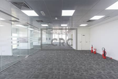 Office for Rent in Dubai Media City, Dubai - Partitioned & Carpeted | Sheikh Zayed Road