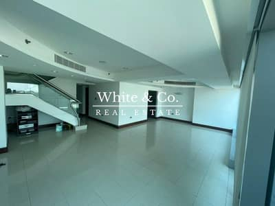 4 Bedroom Flat for Rent in World Trade Centre, Dubai - Jumeirah Living | Duplex | Available