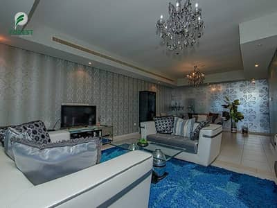 شقة 4 غرف نوم للبيع في دبي مارينا، دبي - Upgraded |4BR Apt | Sea and Marina View