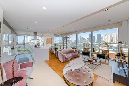 شقة 3 غرف نوم للبيع في جزيرة بلوواترز، دبي - Exclusive   VOT   Maids room   Sea views