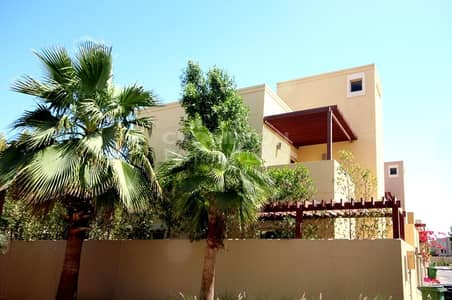4 Bedroom Townhouse for Sale in Al Raha Gardens, Abu Dhabi - Vacant | Type A TH | Single Row | Corner