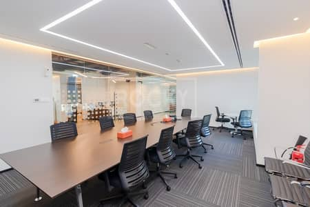 Office for Rent in Barsha Heights (Tecom), Dubai - Exclusive | Fitted-Furnished | Top Floor | 10 Parking | Chiller Free