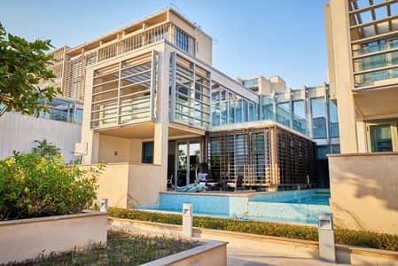 5 Bedroom Villa for Sale in Al Raha Beach, Abu Dhabi - Luxurious  Beach Villa  I  Move in soon I  Beach Views