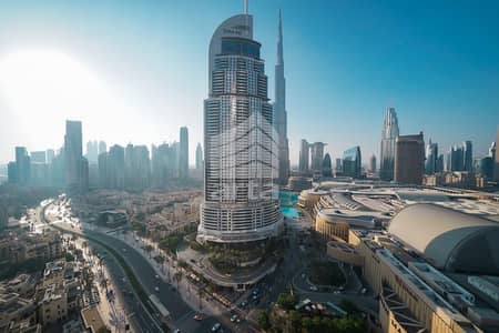 2 Bedroom Apartment for Rent in Downtown Dubai, Dubai - Astonishing Burj Khalifa View Luxury Apartment
