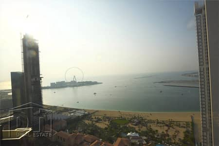 1 Bedroom Penthouse for Rent in Jumeirah Beach Residence (JBR), Dubai - Sea View | Upgraded Duplex | Chiller Free