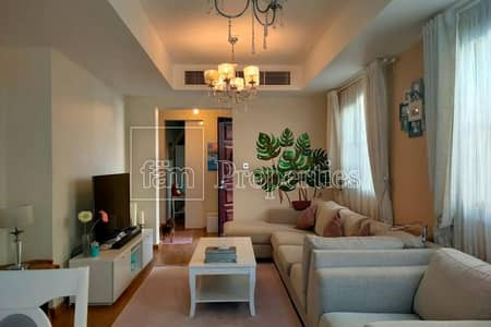 2 Bedroom Villa for Sale in The Springs, Dubai - Cozy villa with lovely shadow in the garden