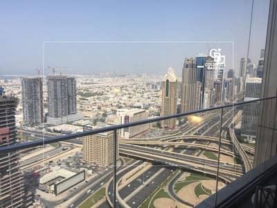 فلیٹ 2 غرفة نوم للايجار في وسط مدينة دبي، دبي - High Floor | Amazing View | Negotiable