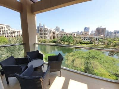 فلیٹ 2 غرفة نوم للايجار في ذا فيوز، دبي - Stylish Duplex/Full Lake View/Fully furnished