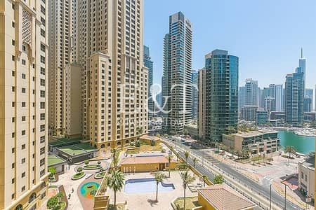 1 Bedroom Apartment for Rent in Jumeirah Beach Residence (JBR), Dubai - 1 BR | Large Layout | Ready to Move| Rimal 4| JBR