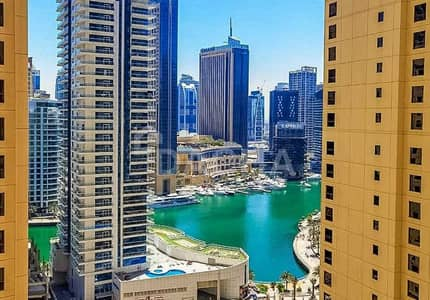 2 Bedroom Flat for Sale in Jumeirah Beach Residence (JBR), Dubai - UPGRADED 2 Bed / Vacant / Marina View