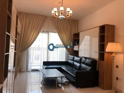 استوديو  للايجار في أرجان، دبي - Community View | Fully Furnished |  Equipped Kitchen