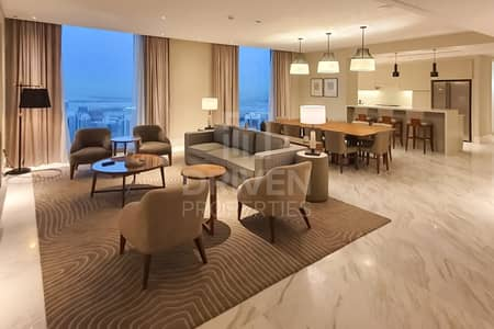 4 Bedroom Flat for Rent in Downtown Dubai, Dubai - All Inc | New High Floor Sky Collection
