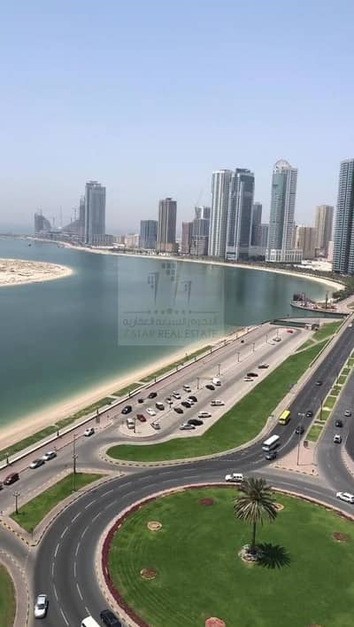 3 Bedroom Apartment for Sale in Al Khan, Sharjah - Front view from all rooms