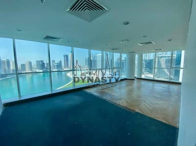 Office for Rent in Business Bay, Dubai - Panoramic Views   Fully Fitted   Bright  1 Parking