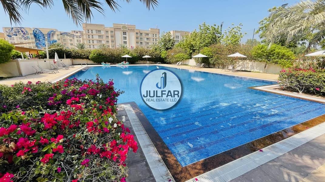 25 *Splendid Sea View* 1BHK For Rent In Mina Al Arab