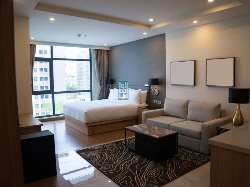 9 THE IDEAL PLACE TO BALANCE LIFE /LUXURY FURNISHED STUDIO