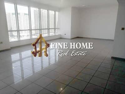 شقة 3 غرف نوم للايجار في الخالدية، أبوظبي - Awesome 3BR with City View Balcony + Wardrobe