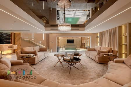 4 Bedroom Penthouse for Sale in Jumeirah Beach Residence (JBR), Dubai - Stunning Classic Fully furnished Luxury living Penthouse