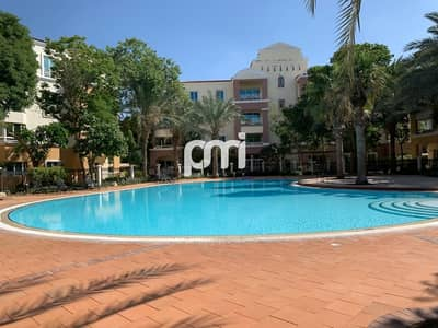 1 Bedroom Apartment for Rent in Green Community, Dubai - Pool and park view | Huge balcony | High floor |