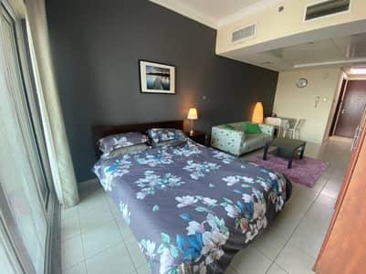 Studio for Rent in Jumeirah Lake Towers (JLT), Dubai - Bedroom