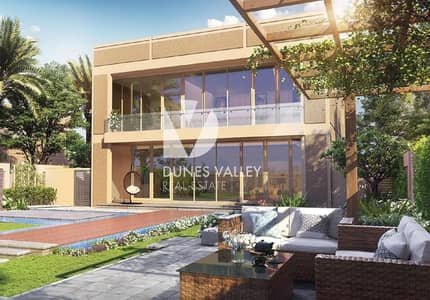 5 Bedroom Villa for Sale in Dubailand, Dubai - Modern Style 5 BR Luxurious Villa | Roof Access | 0% DLD Fee| Independent