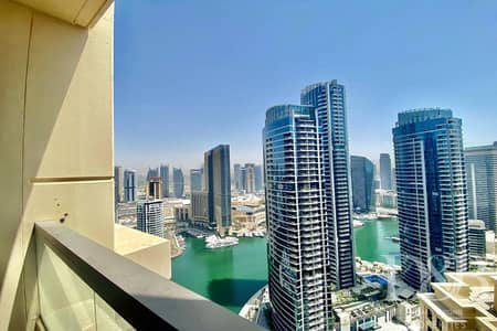 شقة 4 غرف نوم للايجار في جميرا بيتش ريزيدنس، دبي - Marina View | Large Layout | Vacant