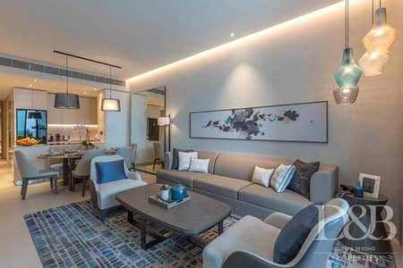 1 Bedroom Flat for Rent in Jumeirah Beach Residence (JBR), Dubai - Marina View | High Floor | Modern