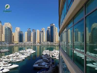 1 Bedroom Apartment for Rent in Dubai Marina, Dubai - Partial Marina View | 1B Plus Study | Low Floor
