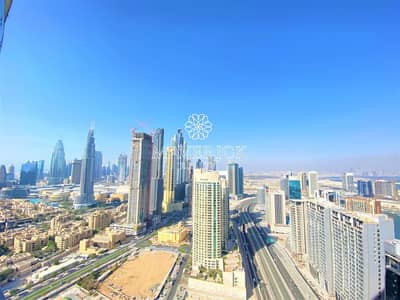 2 Bedroom Apartment for Sale in Downtown Dubai, Dubai - Exclusive Furnished 2BR   Canal View   High Floor