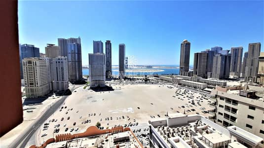 فلیٹ 3 غرف نوم للايجار في المجاز، الشارقة - Sea View | Brand New 3BHK | Parking+Gym+Pool Free