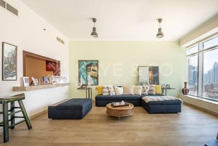 2 Bedroom Apartment for Sale in Downtown Dubai, Dubai - Full Burj Khalifa View | Furnished |Remodeled Unit
