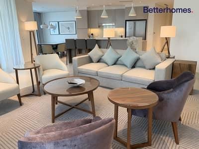 شقة 3 غرف نوم للبيع في وسط مدينة دبي، دبي - Brand New | Vacant | Low Floor | Burj View