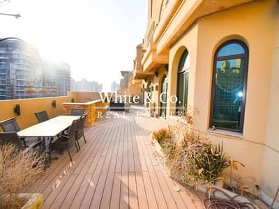 3 Bedroom Penthouse for Sale in Palm Jumeirah, Dubai - Penthouse   Vacant   Large Terrace