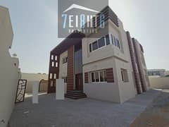 Amazing offer: 5 b/r good quality BRAND NEW independent villa + large landscaped garden for rent in Al Warqaa 2