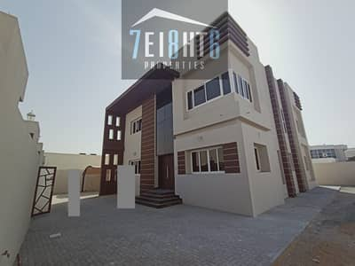 فیلا 5 غرف نوم للايجار في الورقاء، دبي - Amazing offer: 5 b/r good quality BRAND NEW independent villa + large landscaped garden for rent in Al Warqaa 2