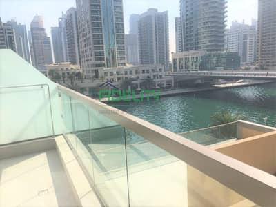 فلیٹ 1 غرفة نوم للايجار في دبي مارينا، دبي - No Commission| Big Terrace | Chiller Free| Partial Marina View