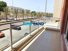 Street View ! Vacant 2Beds Type B for Only AED 60k !