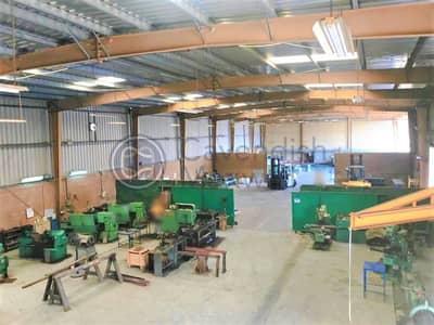 Warehouse for Sale in Dubai Industrial Park, Dubai - Extensive Yard - Load 3000 KVA - Painting/Blasting