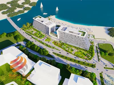 1 Bedroom Apartment for Sale in Yas Island, Abu Dhabi - Luxurious Escape in this Waterfront 1 BR Unit