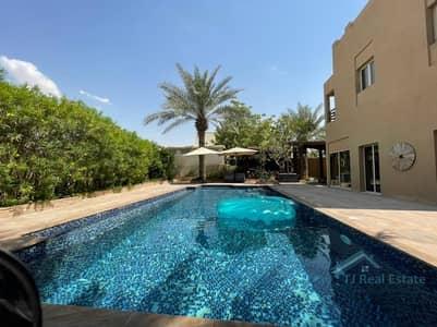 4 Bedroom Villa for Sale in The Meadows, Dubai - LARGEST CORNER PLOT | UPGRADED | JACUZZI | LARGEST POOL | HATTAN E2