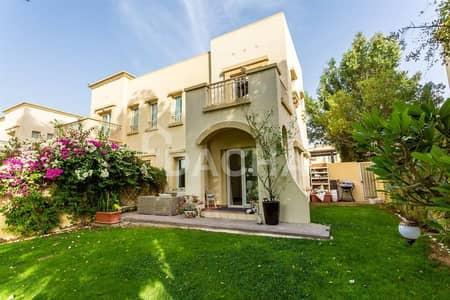 فیلا 2 غرفة نوم للبيع في الينابيع، دبي - Big Plot / Lake View / Park & Pool Access
