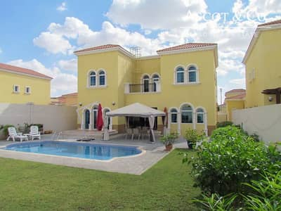 3 Bedroom Villa for Rent in Jumeirah Park, Dubai - 3 Beds Legacy | Pool | Available in July