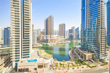 2 Bedroom Flat for Sale in Jumeirah Beach Residence (JBR), Dubai - Marina View | Rented | 2 Bed + Utility