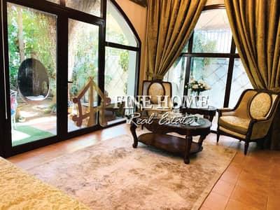 فیلا 4 غرف نوم للبيع في شارع السلام، أبوظبي - Furnished & Modified 4BR Villa w Lush Gardens