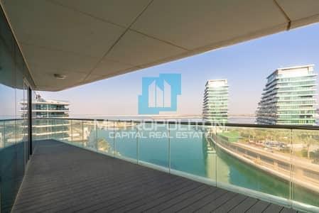 فلیٹ 1 غرفة نوم للبيع في شاطئ الراحة، أبوظبي - Full Sea View| Big Balcony |Luxury Spacious Layout