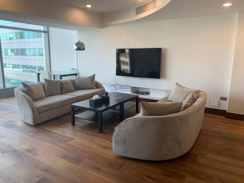 2 Stylish and Fully Upgraded Furnished Apartment for Rent in Jumeirah Living