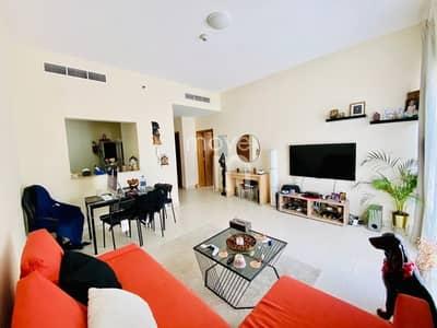فلیٹ 1 غرفة نوم للبيع في قرية جميرا الدائرية، دبي - Pool View|Balcony + Parking |Bsmt Storage|Rented