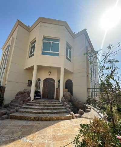 6 Bedroom Villa for Sale in Al Mowaihat, Ajman - Villa for sale with water and electricity + air conditioners, super deluxe finishes, second piece of Sheikh Ammar Street