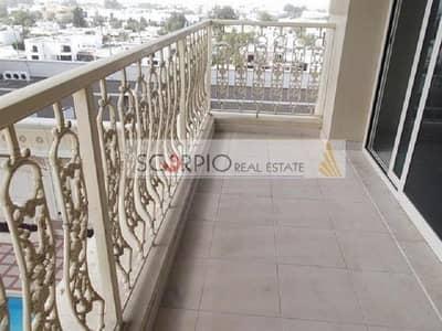 فلیٹ 3 غرف نوم للايجار في البدع، دبي - Chiller Free !! Huge Size !! Amazing View l 3 Bedrooms Apartment Maids Room in Al Ghazal Al Badaa